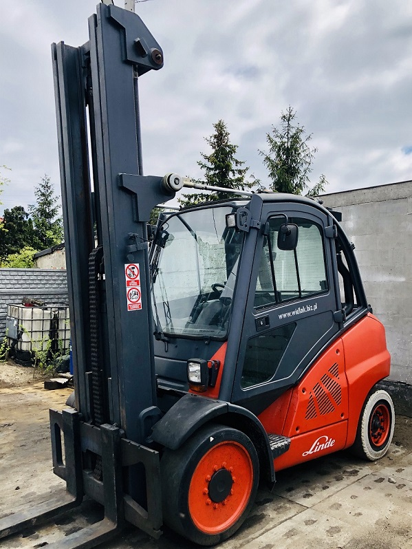 Wózek Widłowy Linde H50T-01/ 394